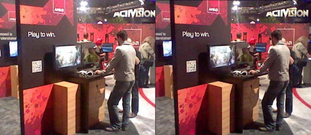AMD E3 Exhibit