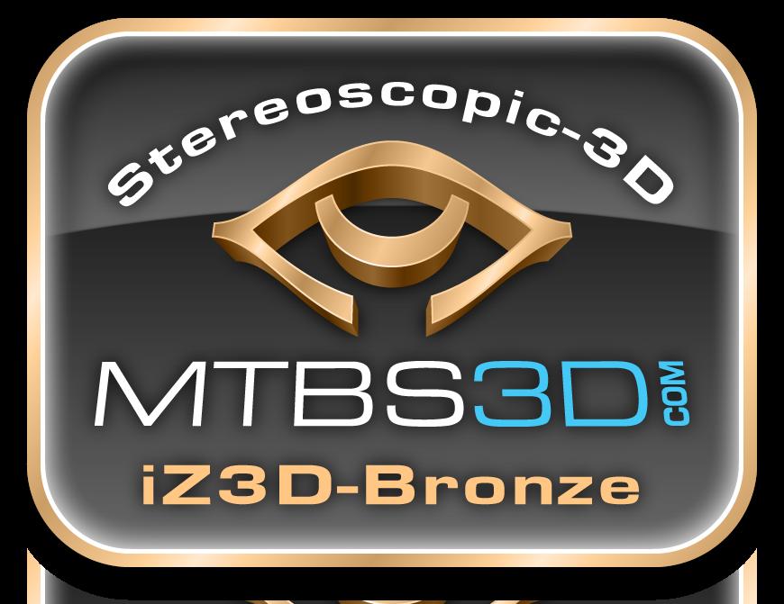 iZ3D Bronze Logo