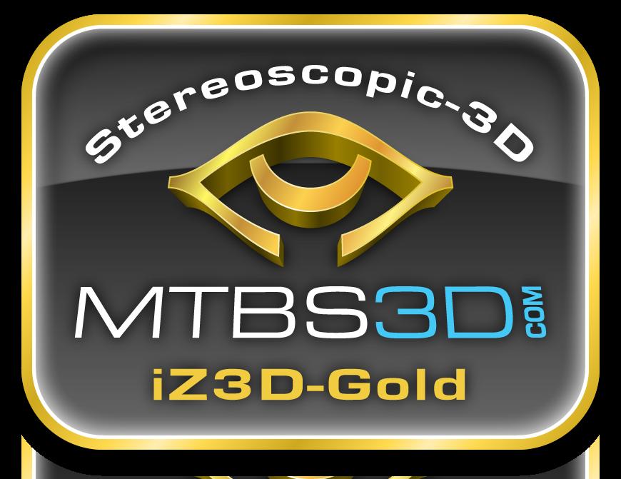 iZ3D Gold Logo