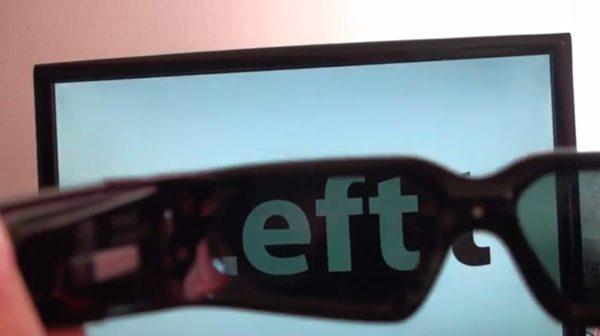 Nvidia GeForce 3D Vision Glasses Hack