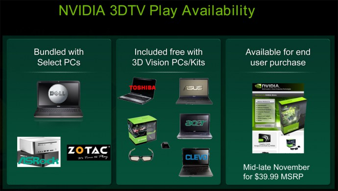 3DTV Play Details