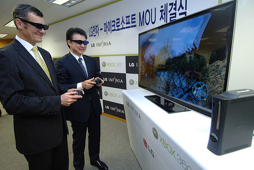 LG & Microsoft 3D Press Release