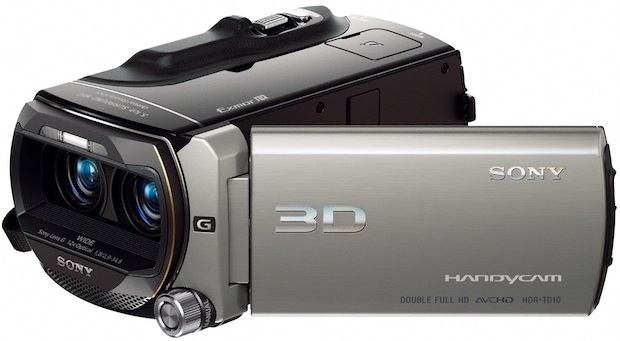 Sony HDR-TD10 3D Camcorder