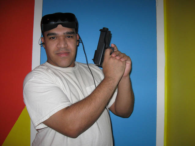 Andres Hernandez...is armed...