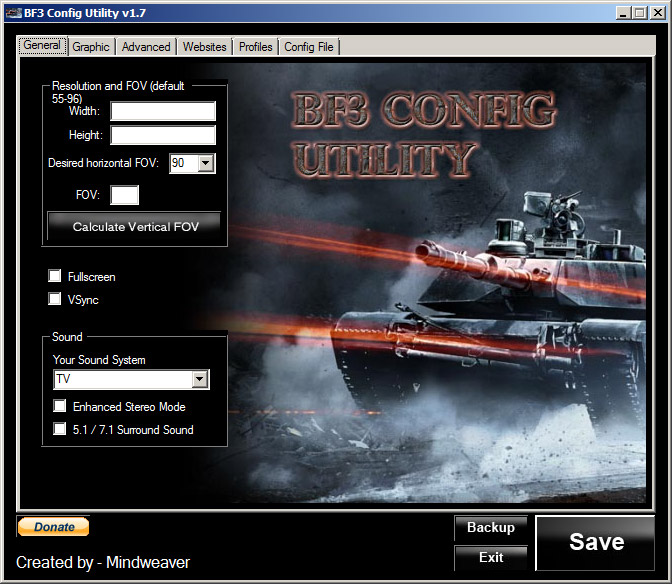 Battlefield 3 Convergence Utility