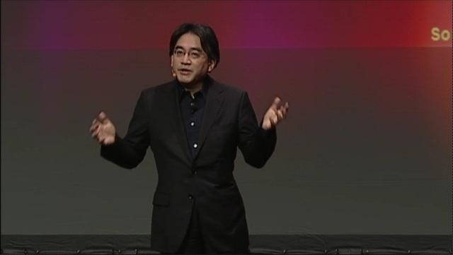 Satoru Iwata, President of Nintendo