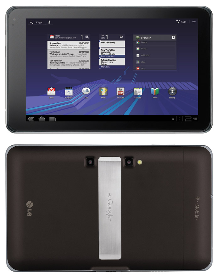 LG Optimus Tablet