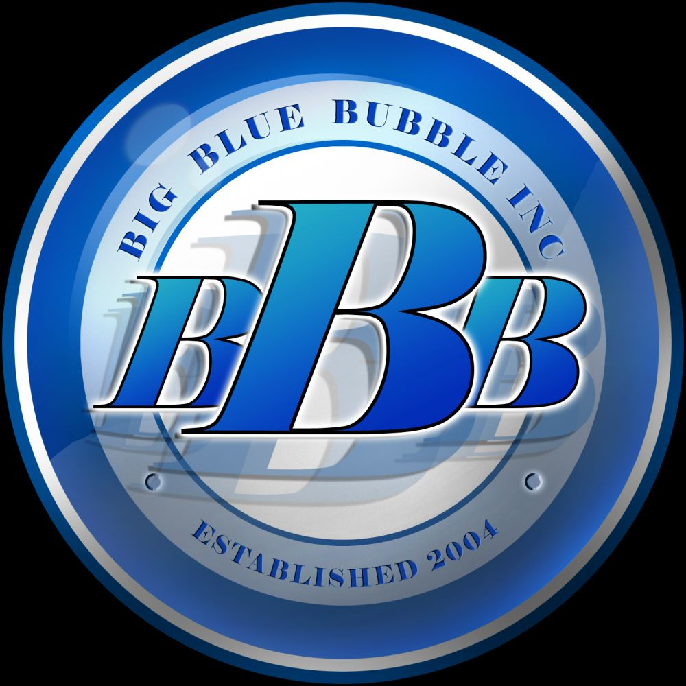 Big Blue Bubble Logo