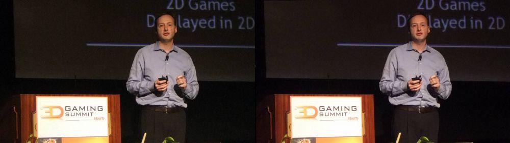 Phil Eisler, General Manager, NVIDIA's GeForce 3D Vision
