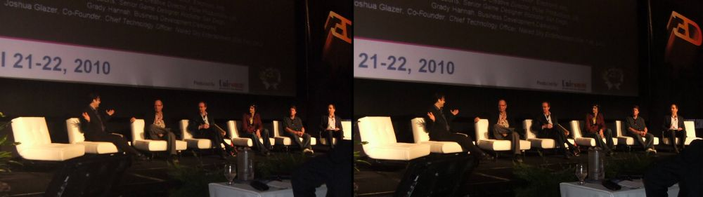 3D Gaming Summit panel