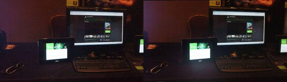 Nvidia 3D Live