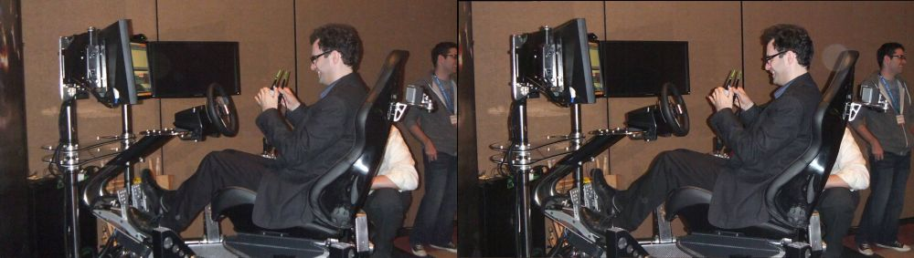 Neil Schneider (MTBS) on the VRX / 3D Vision Chair