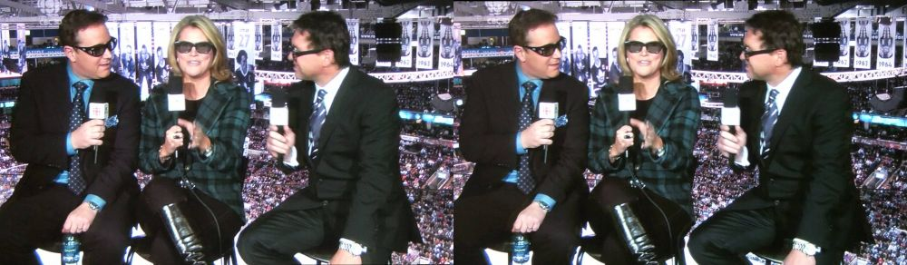Hockey Night in Canada in 3D