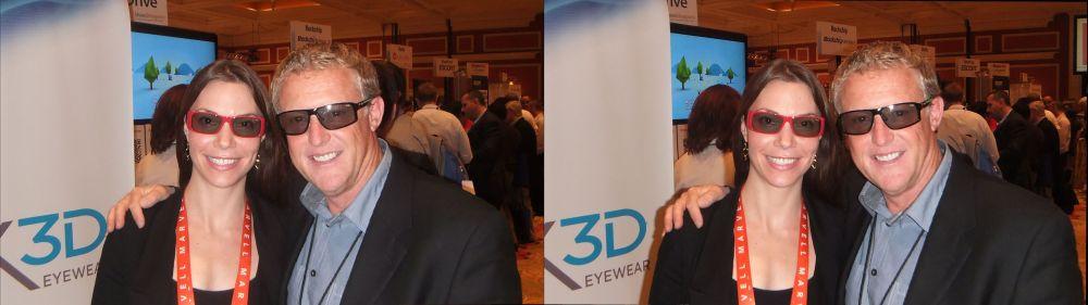 Sarah Hardoby & Mark McNabb from Marchon 3D