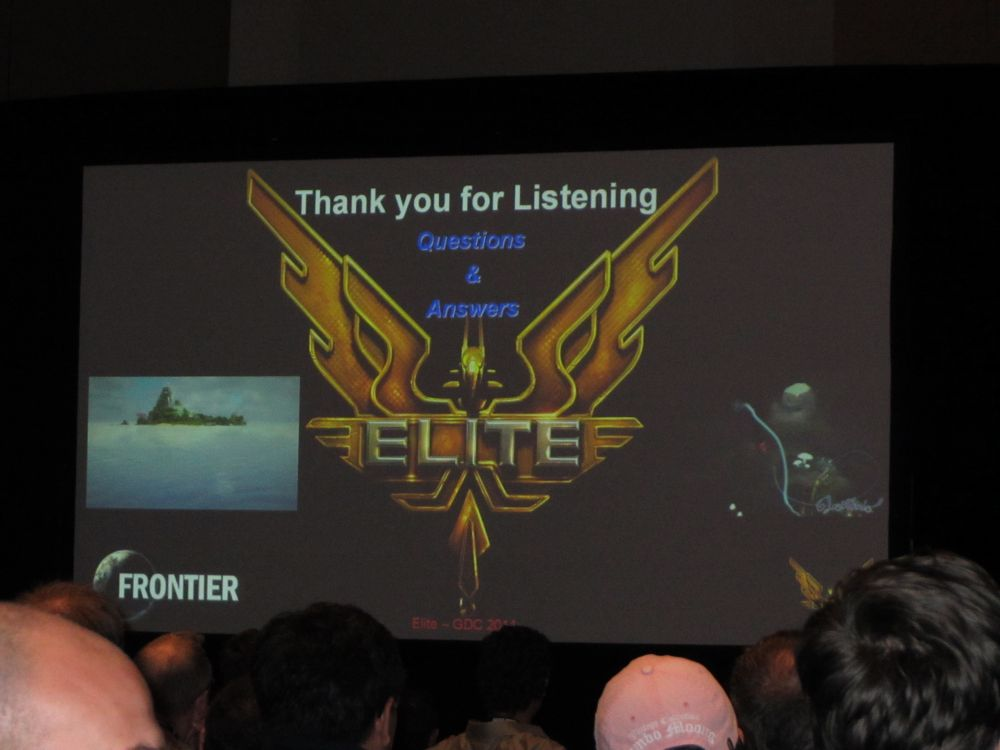 Elite at GDC 2011