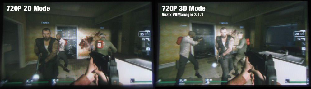 Left4Dead on Vuzix Wrap 1200VR