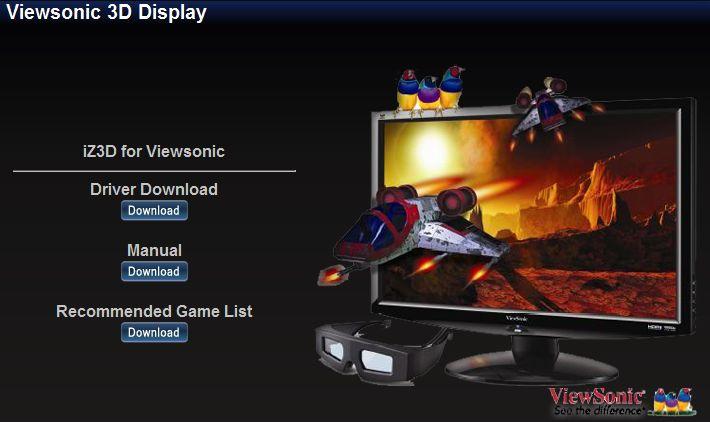 Viewsonic / iZ3D Driver Mix