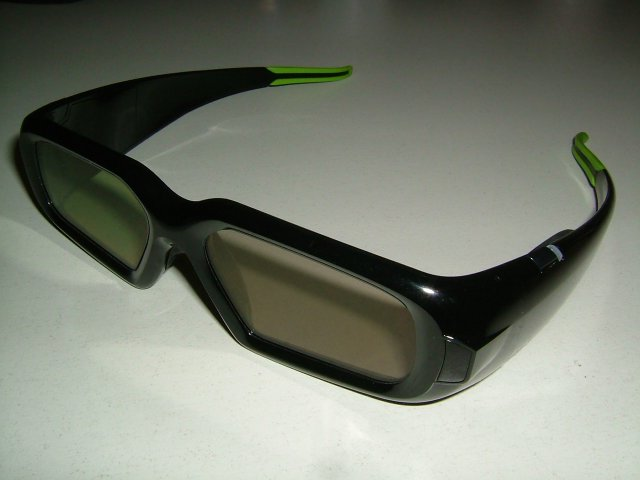 Nvidia GeForce 3D Vision Shutter Glasses
